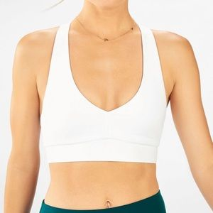 Fabletics All Day Every Day Bra White